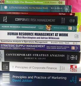 Manchester business school MBA books