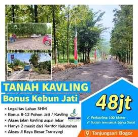 Dijual tanah murah pinggir jalan prov, dekat kecamatan