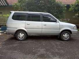 Jual Cepat BU Toyota Kijang Plat D 2002 1.8 LGX 1800 CC Silver Lengkap