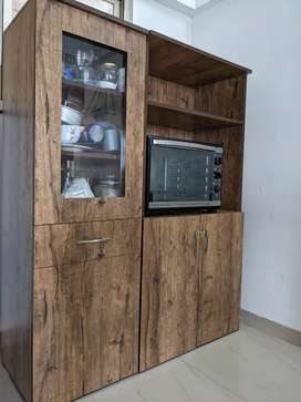 Kitchen Cabinet with Oven section