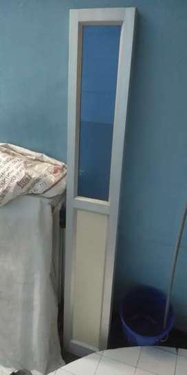 Aluminum doors good condition