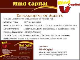Required Candidate To Sell Mutual Funds & Insurance Product