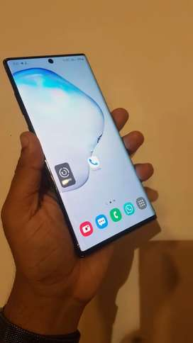 Samsung note 10 plus without any scretch (only back glass break Rs2000