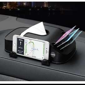 Holder HP, Kartu dan Tisu di Dashboard Mobil