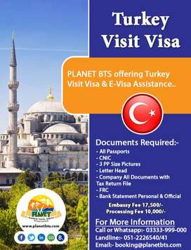 Apply Today Turkey Visa & Get Amazing Tour Packages