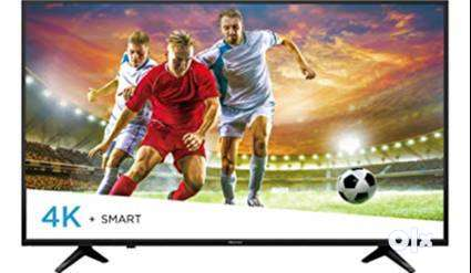 """Offer on Cornea 55"""" Smart 4K LED TV with a warranty of 3 years 0"""