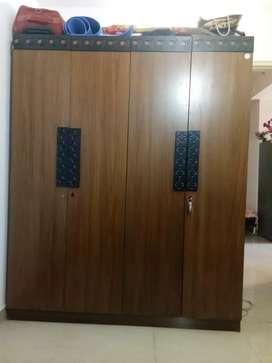 Wardrobe 2 saal purana but New condition