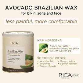 RICA BRAZILIAN WAX (NO STRIP) 800ML ORIGINAL