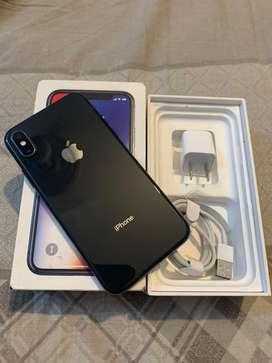 iphone x 64gb complete pta approved✅