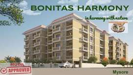 3BHK apartment for sale in prime location of Vijaynagar 2nd Stage