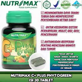 Nutrimax C+ Plus with Phytogreen daya kekebalan tubuh dan imunitas