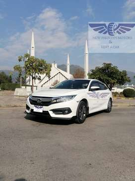 Honda Civic 2020 Available for Rent in islamabad