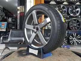 Velg Mobil Honda CRV dengan Ban 255/45 R20 Accelera Iota ST68