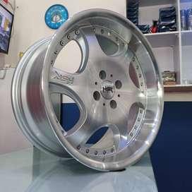Velg Mobil Ring 17 GANGNAM HSR Pelek R17 Lebar 7.5/8.5 PCD 4x100
