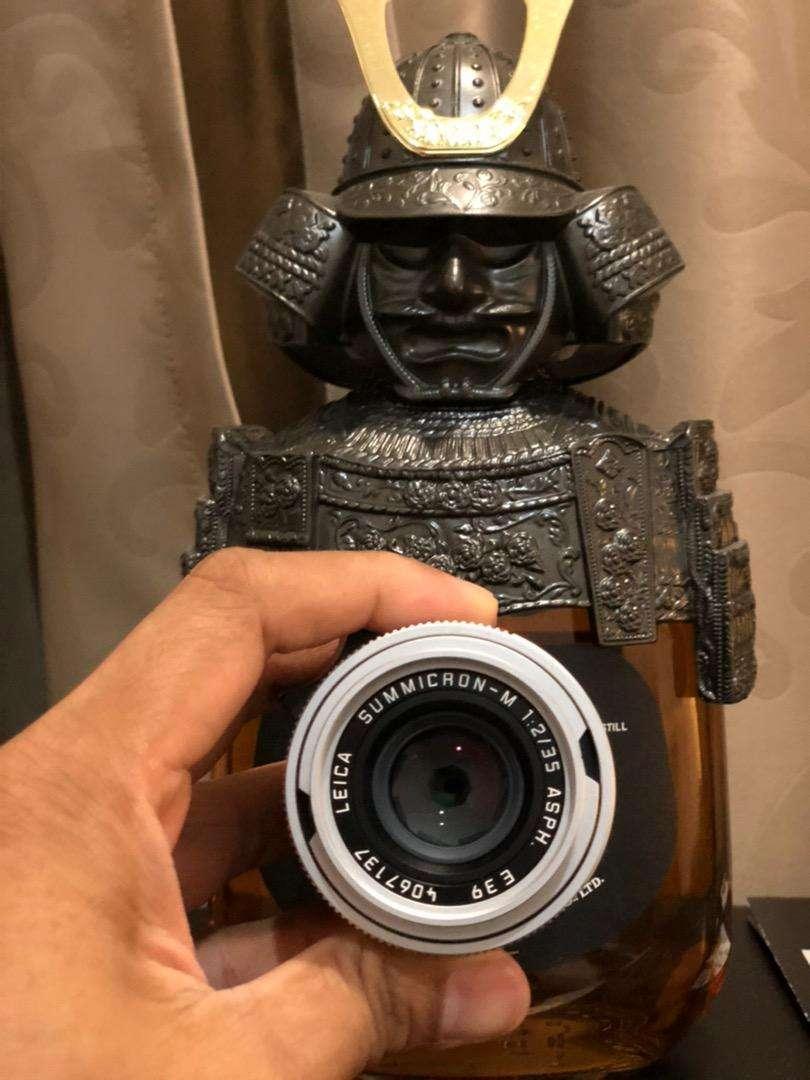 Leica summicron 35mm F2 asph silver 0
