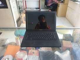 Laptop Lenovo G405 PProsesor AMD E1-2100 ram 2 giga