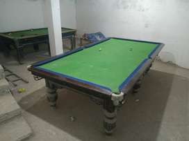 2 snooker table 5/10 & 4/8