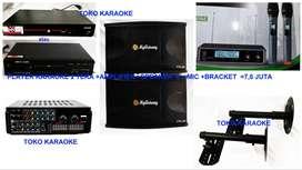paket karaoke super lengkap bnget