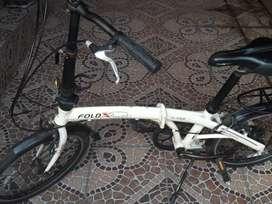 Sepeda Lipat Fold X