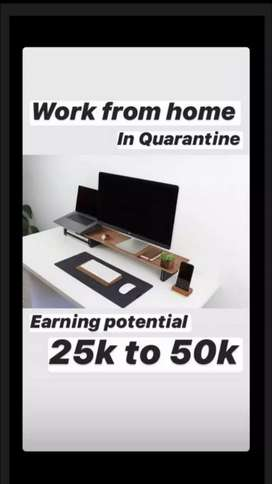 Work from home opportunity. You just need a smartphone and internet.