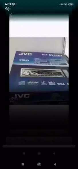 Tape singledish jvc ( Megah top )