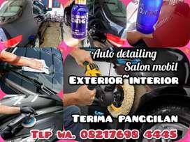 Salon mobil panggilan Wayhalim Antasari bandar Lampung