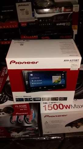 doubledin Pioneer AVH A315BT Lengkap Audio Mobil Bandung
