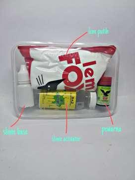 Slime kit lem putih fox