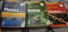 Books for class 9 (S.CHAND) physics biology chemistry