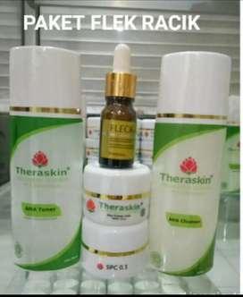 Paket Skincare Theraskin utk kulit flek tebal