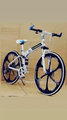 NEW 21GEAR FOLDABLE CYCLE /BICYCLE IN ALL COLORS