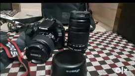 Canon 1300d and canon 700d for rent