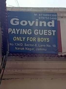 PG facility in Nanak nagar