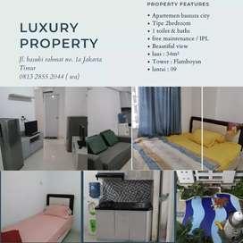 Disewakan apartemen bassura city tipe 2br full furnish