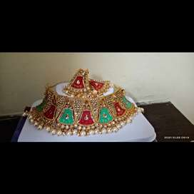 Beautiful necklace for diwali