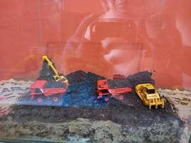 Miniatur tambang batubara