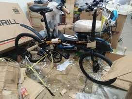 Kami menjual sepeda lipat united cora