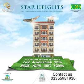 Two bed apartment are available for sale in star height in park view c