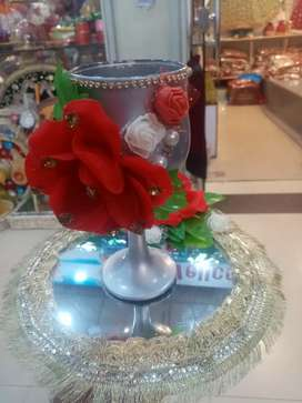 Doodh pilai glass decoration Ramzana special offers