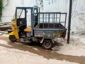 Wanted a 3-wheeler auto trolley driver