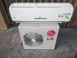 Dijual AC 1 PK merk LG + pasang dan bahan