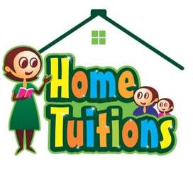 Home Tuition Faculty Std. 6 to 10