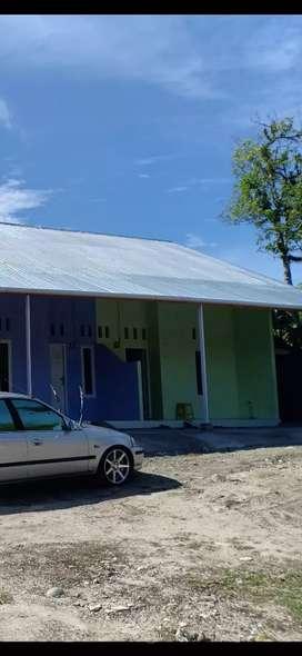 Dikontrakan rumah..tinggal yg warna hijau..dua kamar
