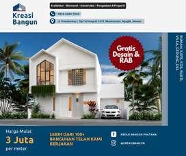 Jasa Arsitek Kontraktor Bangun Rumah dan Renovasi Terpercaya di Jogja