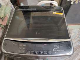 Fully automatic 10 kg LG  washing machine inverter,hot and cold option