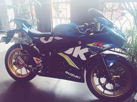 Gsx 150 R modifikasi
