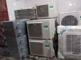 BRAND NEW SPLIT AC FACTORY 2ND 1.0 TON & 1.5 TON RS 16000 TO 28000