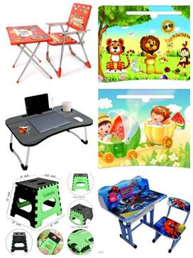 Kids study table set, study table, stool different furniture for sale