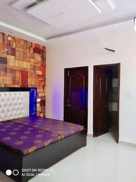 ONLY IN 23.90 FULLY FURNISHED 2 BHK FLAT IN GATED SOCIETY,MOHALI 127