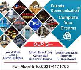 Commercial,Home,Plaza,Building,Shop,Office,Showroom,Finsihing,Work,3D,